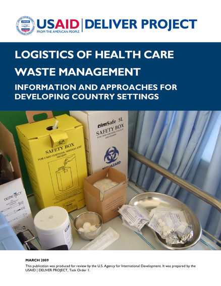 Logistics of Health Care Waste Management | medbox org