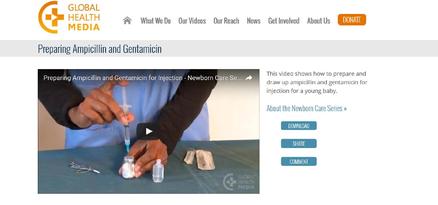 Preparing Ampicillin and Gentamicin | medbox org