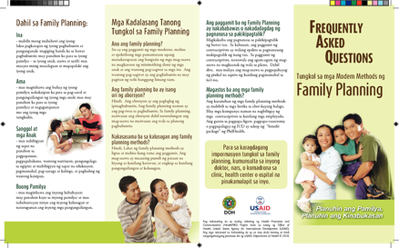 Philippines family planning frequently asked questions for Family planning com