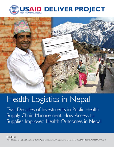 Health Logistics in Nepal Two Decades of Investments in