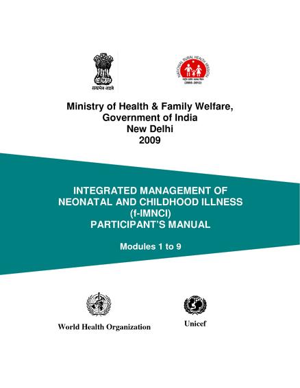 Integrated Management Of Childhood Illness Pdf