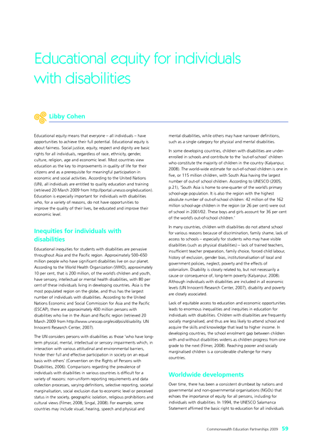 The Next Educational Equity >> Educational Equity For Individuals With Disabilities Medbox Org