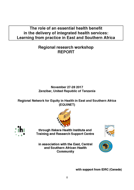 The Role Of An Essential Health Benefit In The Delivery Of